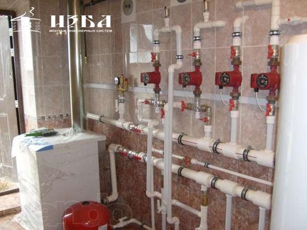 монтаж отопления в Троицке