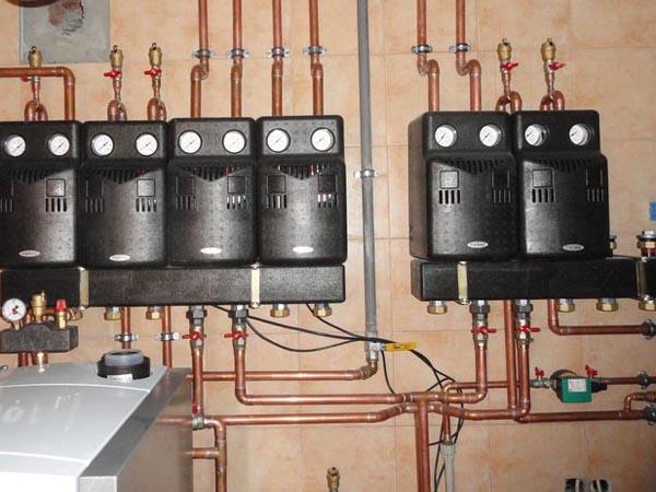 монтаж отопления в Электрогорске
