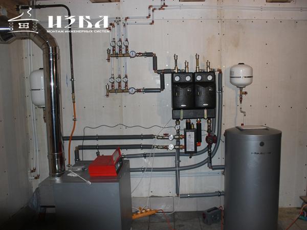 монтаж отопления в Раменском