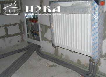 монтаж отопления в Чехове