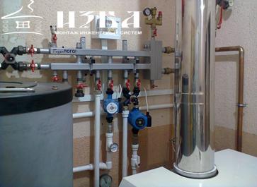 Монтаж отопления дома под ключ