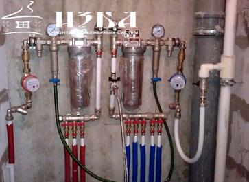монтаж водоснабжения в Чехове