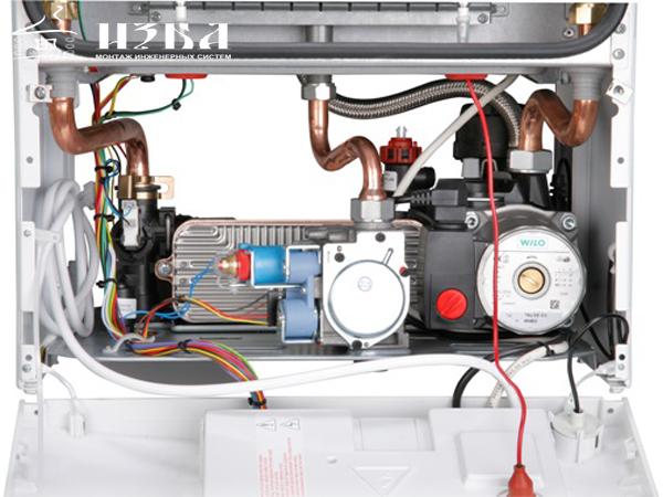 установка газового котла Bosch WBN6000-18H в Домодедово