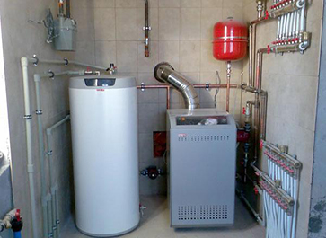 монтаж отопления в Пущино