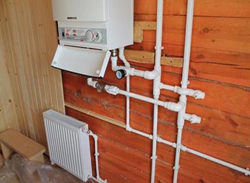 монтаж отопления в Подольске