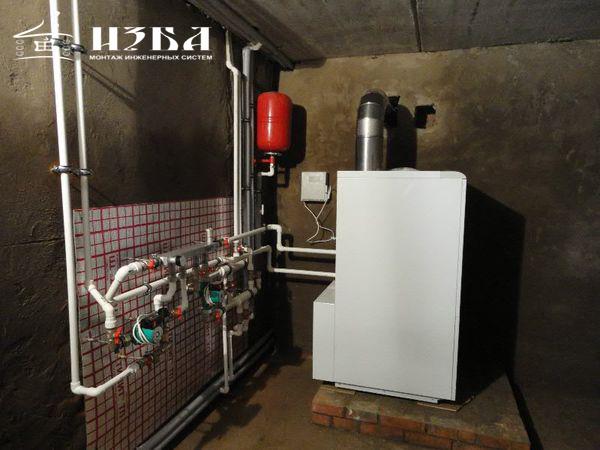 монтаж отопления в Ступино