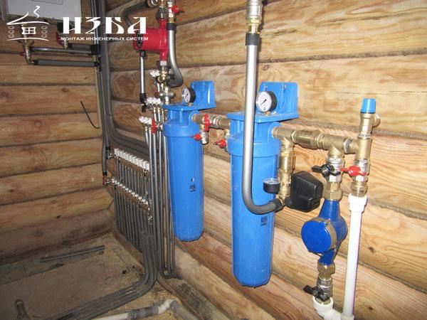 Наладка водопровода в Домодедово.